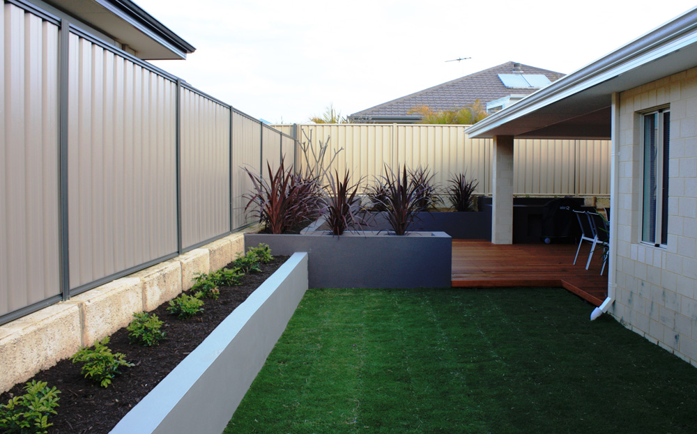 Instant gardens landscaping perth for Garden landscaping perth