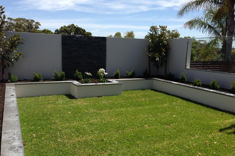 Feature Wall Designs And Landscaping Instagardens Landsdale